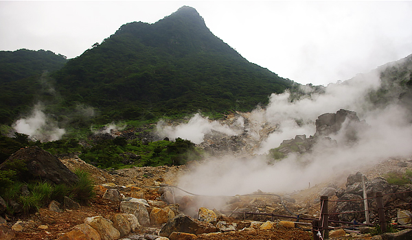 Kết quả hình ảnh cho Thung lũng Owakudani