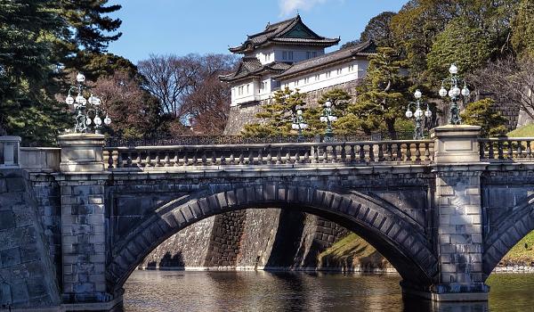 Kết quả hình ảnh cho Hoàng cung Hoàng Gia Nhật Bản.